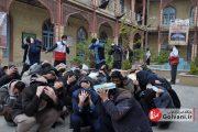 زنگ زلزله در مدارس علمیه لرستان برگزار شد