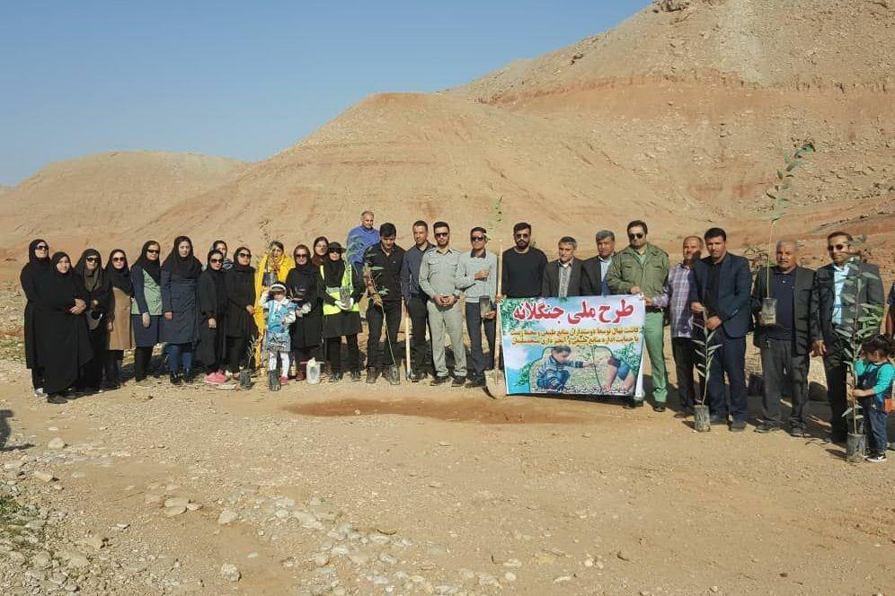 قرارسبز در شهر مسجدسلیمان استان خوزستان