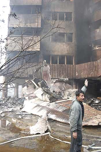 سقوط هواپیمای سی_۱۳۰ در شهرک توحید