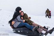تیوپ سواری در برف عشق و حال است اما