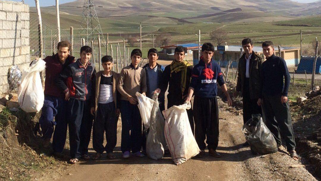 قرارسبز در شهر روانسر استان کرمانشاه