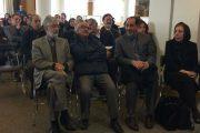 پیکر سلیم نیساری در میان جمعی از چهرههای زبان و ادبیات فارسی به خانه ابدی بدرقه شد