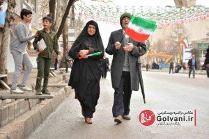 جشن چهل سالگی انقلاب اسلامی در خرم آباد؛ راهپیمایی ۲۲ بهمن در خرم آباد