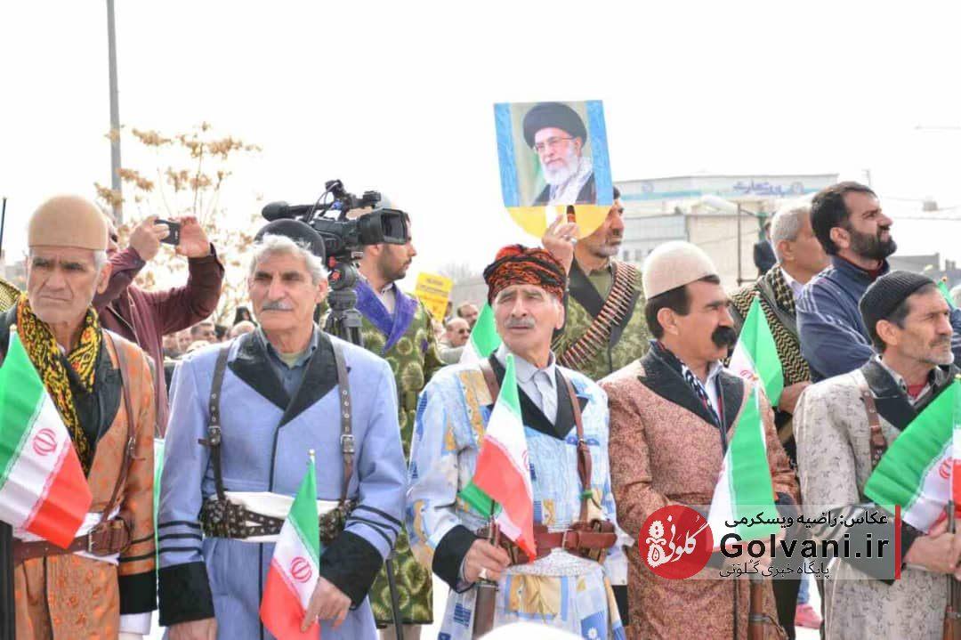 جشن چهل سالگی انقلاب اسلامی در خرم آباد؛ راهپیمایی ۲۲ بهمن در لرستان