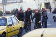 پیروز حناچی بهجای دوچرخهسواری، مشکل حملونقل عمومی را حل کند