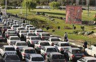 ترافیک شهر خرم آباد مانع از بازدید گردشگران از قلعه فلک الافلاک میشود