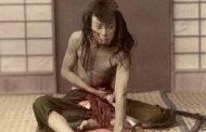 خودکشی تشریفاتی یا هاراکیری اولین بار به وسیله ساموراییها در ژاپن مرسوم شد