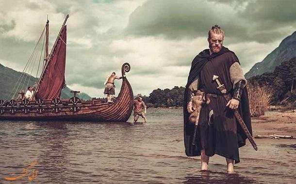 دریانوردان اسکاندیناوی معروف به وایکینگها چهار قرن قبل از کریستف کلمب آمریکا را کشف کردند
