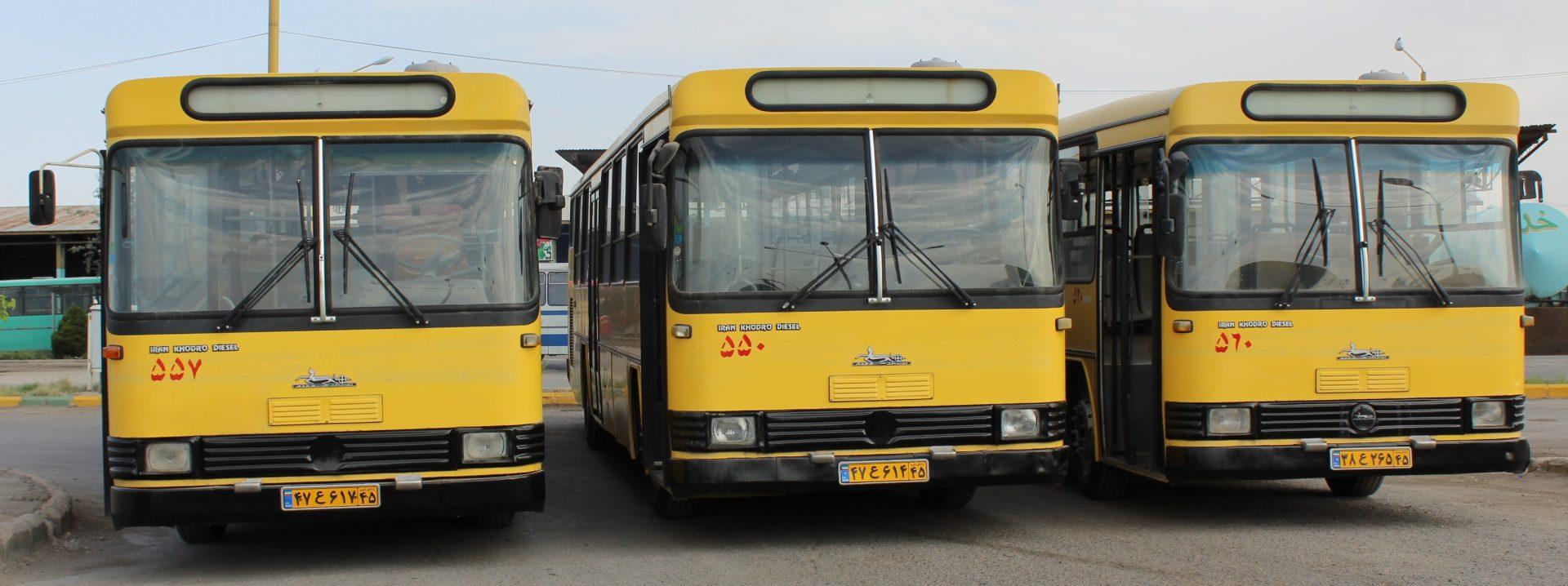 آغاز فعالیت مجدد اتوبوسهای درون شهری شیراز