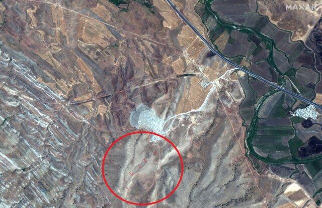 کشف دیوار سنگی در غرب ایران