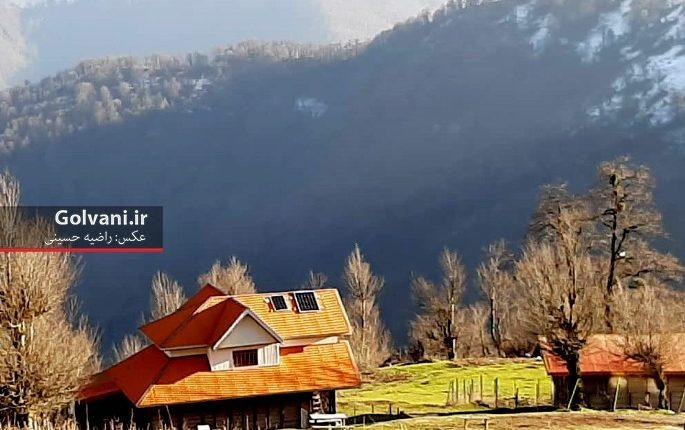پاییز در ارتفاعات ماسال گیلان دلبری میکند