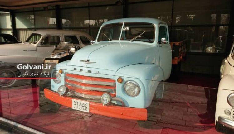 نمایشگاه ماشین در کافه لقانته