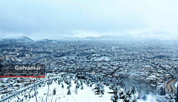 تصاویری از زمستان شهر خرم آباد