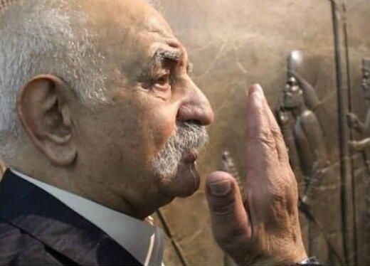 مسعود گلزاری در قطعه نامآوران آرام میگیرد