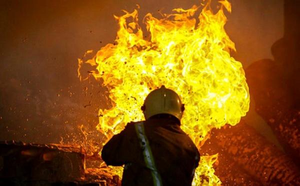 آتش سوزی در بیمارستان شریعتی تهران