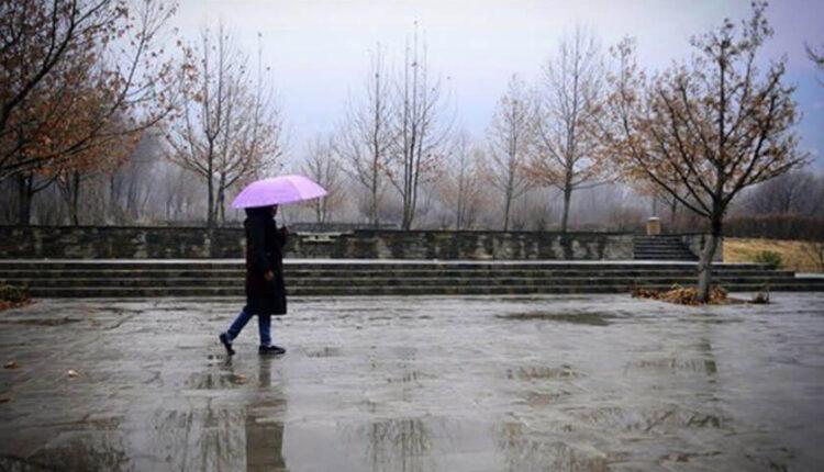 باد و باران در ۱۱ استان