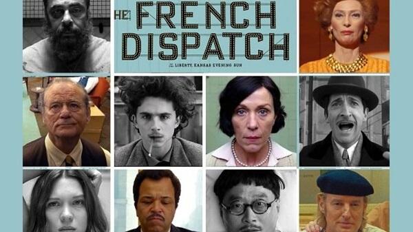 معرفی فیلم گزارش فرانسوی The French Dispatch