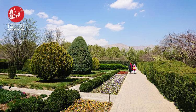 بهار در باغ گیاه شناسی ملی ایران