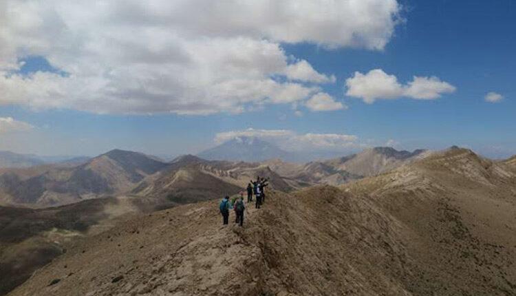 قله میشینه مرگ بلندترین کوه در منطقه البرز شرقی
