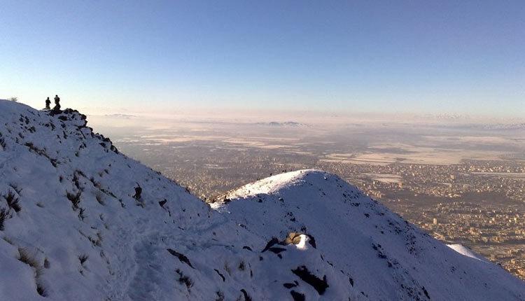 مسیر دسترسی قله نور کوهی در خط الراس دوبرار