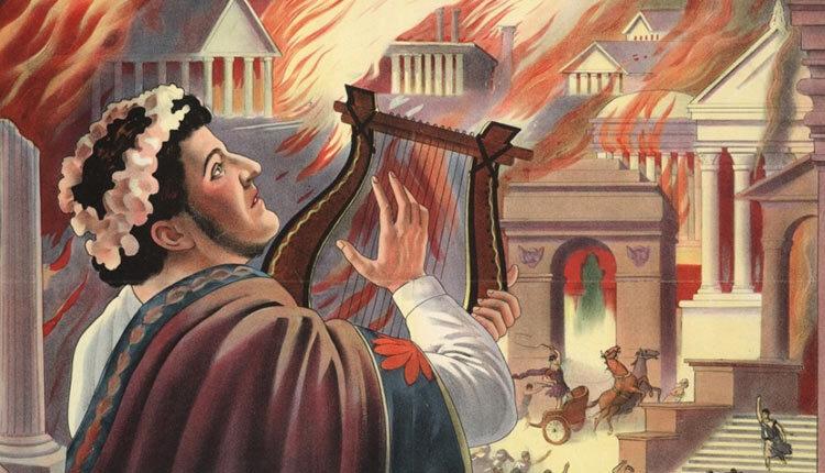 مرگ نرون و به پایان رسیدن دیکتاتوری روم