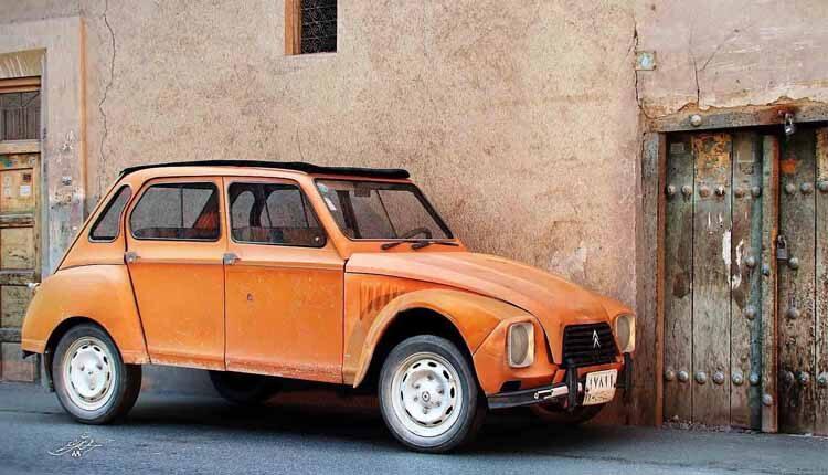 اتومبیل من داستان طنزی از مسعود کیمیاگر