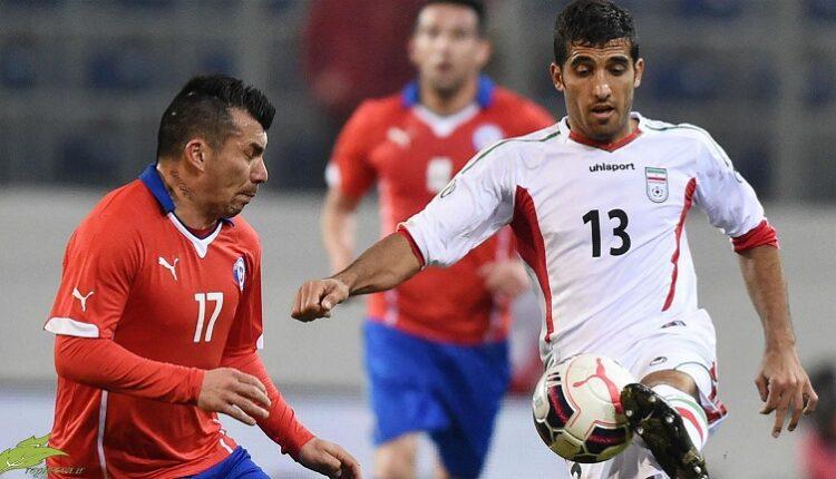 وحید امیری مقابل تیم ملی شیلی