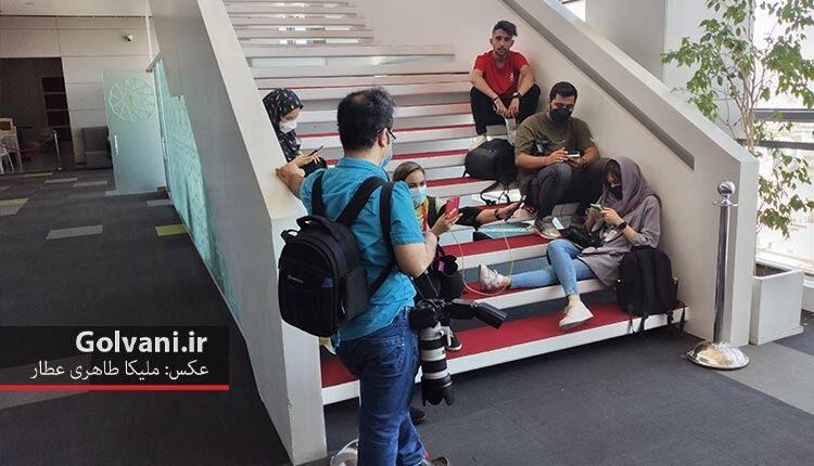 خبرنگاران جشنواره ۳۸ جهانی فجر