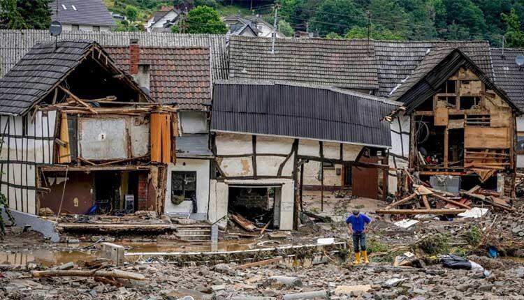 ۲۰۷ میلیمتر باران در ۹ ساعت و مخرب ترین سیل ۱۰۰ سال گذشته در آلمان