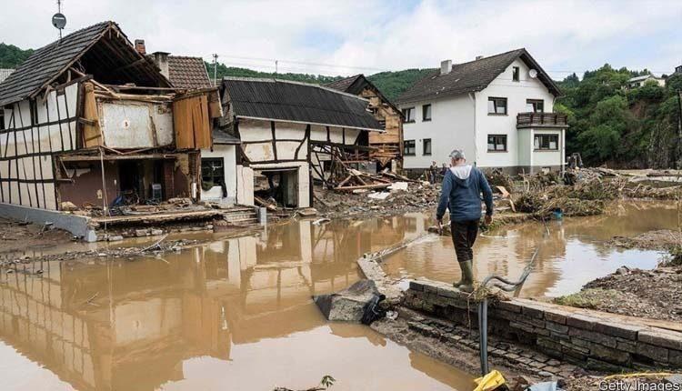 اقلیم شناسان از وسعت سیل در آلمان شوکه شدهاند