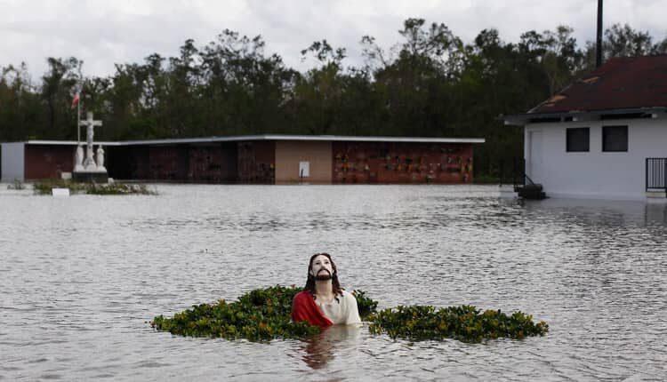 طوفان آیدا و یک میلیون نفر بدون برق در لوئیزیانا