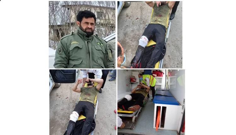 محیط بان گیلانی با سلاح سرد مورد حمله قرار گرفت