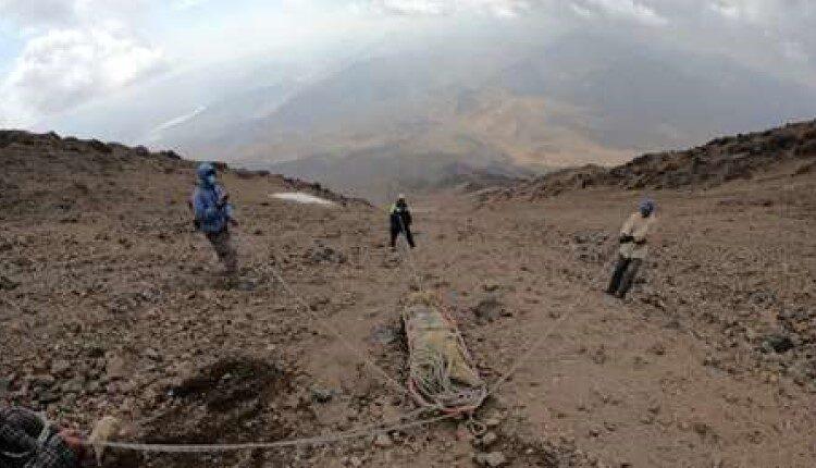 ۵ روز در جست و جوی کوهنورد مفقودی در ارتفاعات دماوند
