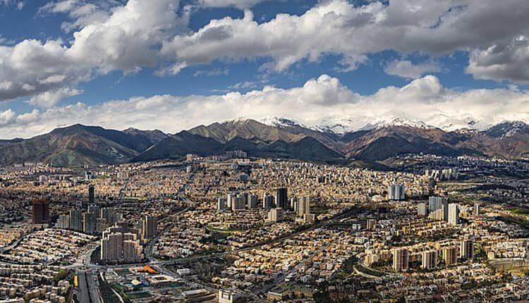 نقشه های تاریخی تهران در صد سال گذشته
