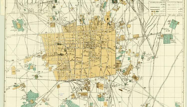 نقشه محمد غفاری