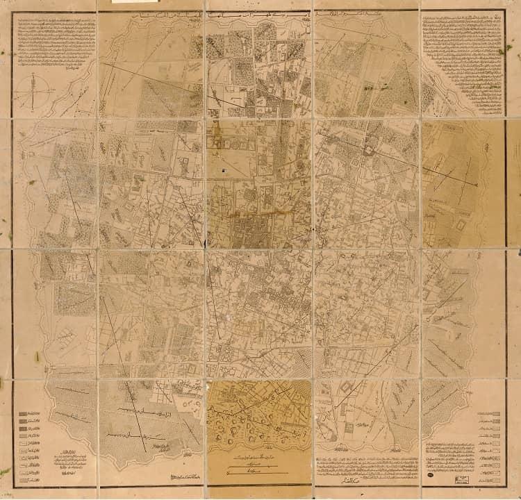 نقشه نجم الملک