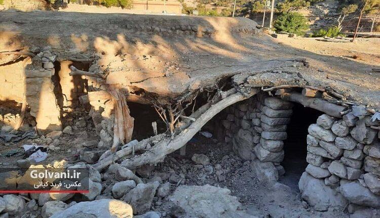 زلزله با اندیکا چه کرد؟ عکسهایی از خانههایی فقیرانه
