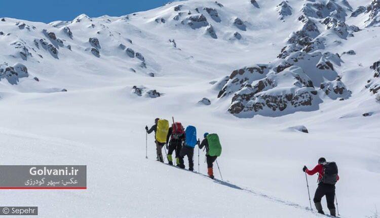 صعود زمستانی به سفیدکوه
