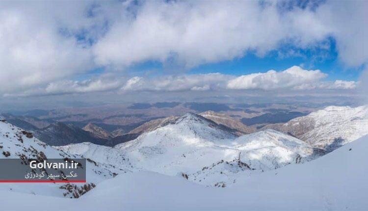قله کربئی لرستان یک ۳ هزارمتری سختگذر است